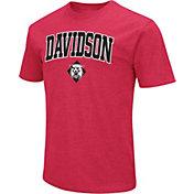 Colosseum Men's Davidson Wildcats Red Dual Blend T-Shirt