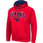 Colosseum Men's Dayton Flyers Red Pullover Hoodie
