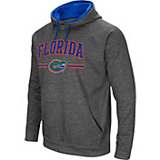 Colosseum Men's Florida Gators Grey Pullover Hoodie