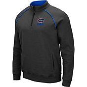 Colosseum Men's Florida Gators Grey VF Staghorn Quarter-Zip Shirt