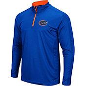 Colosseum Men's Florida Gators Blue Loggerhead Quarter-Zip Shirt