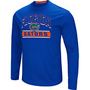 Colosseum Men's Florida Gators Blue Ganges Long Sleeve T-Shirt