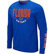 Colosseum Men's Florida Gators Blue Streetcar Long Sleeve T-Shirt