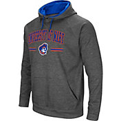 Colosseum Men's Mary Marauders Grey Pullover Hoodie