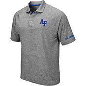 Colosseum Men's Air Force Falcons Grey Chip Shot Polo
