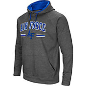 Colosseum Men's Air Force Falcons Grey Pullover Hoodie