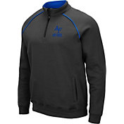 Colosseum Men's Air Force Falcons Grey VF Staghorn Quarter-Zip Shirt