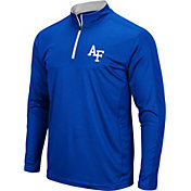 Colosseum Men's Air Force Falcons Blue Loggerhead Quarter-Zip Shirt