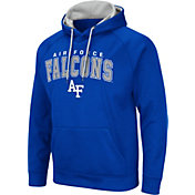 Colosseum Men's Air Force Falcons Blue Pullover Hoodie