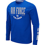 Colosseum Men's Air Force Falcons Blue Streetcar Long Sleeve T-Shirt