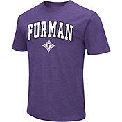 Colosseum Men's Furman Paladins Purple Dual Blend T-Shirt