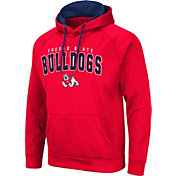 Colosseum Men's Fresno State Bulldogs Cardinal Pullover Hoodie