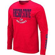 Colosseum Men's Fresno State Bulldogs Cardinal Streetcar Long Sleeve T-Shirt