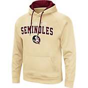 Colosseum Men's Florida State Seminoles Gold Pullover Hoodie