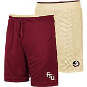 Colosseum Men's Florida State Seminoles Garnet/Gold Wiggum Reversible Shorts