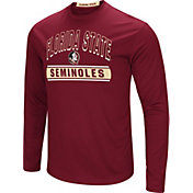 Colosseum Men's Florida State Seminoles Garnet Ganges Long Sleeve T-Shirt