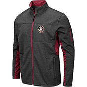 Colosseum Men's Florida State Seminoles Grey Bumblebee Man Full-Zip Jacket