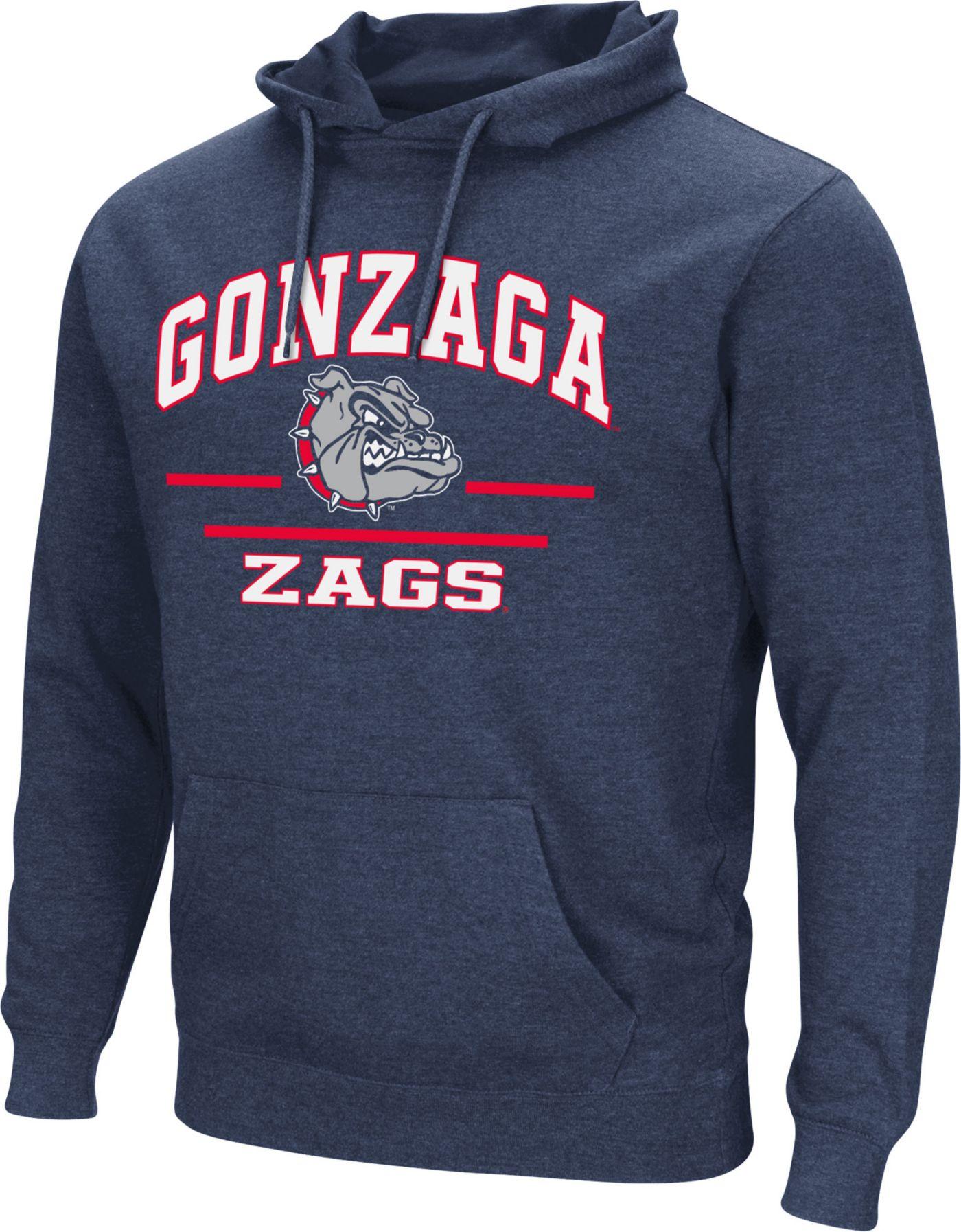 Colosseum Men's Gonzaga Bulldogs Blue Campus Pullover Hoodie