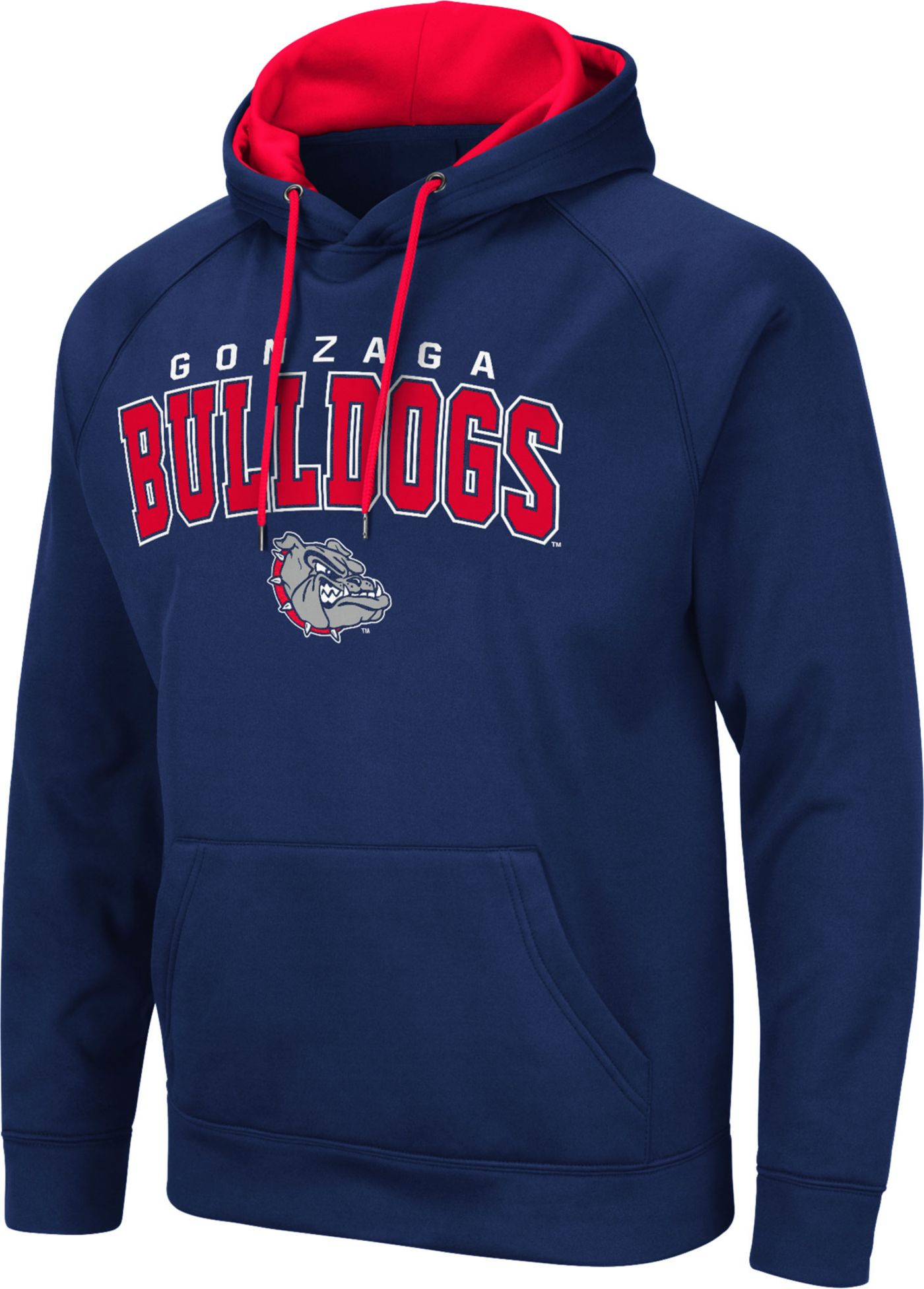 Colosseum Men's Gonzaga Bulldogs Blue Pullover Hoodie