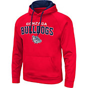 Colosseum Men's Gonzaga Bulldogs Red Pullover Hoodie