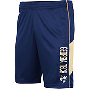 Colosseum Men's Georgia Tech Yellow Jackets Gold Grizzly Shorts