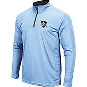 Colosseum Men's Johns Hopkins Blue Jays Columbia Blue Loggerhead Quarter-Zip Shirt