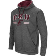 Colosseum Men's Eastern Kentucky Colonels Grey Pullover Hoodie