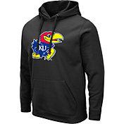 Colosseum Men's Kansas Jayhawks Pullover Black Hoodie