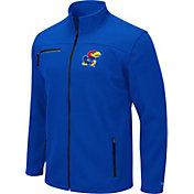 Colosseum Men's Kansas Jayhawks Blue Willie Full-Zip Jacket
