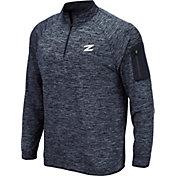 Colosseum Men's Akron Zips Navy Quarter-Zip Shirt