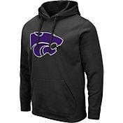 Colosseum Men's Kansas State Wildcats Pullover Black Hoodie