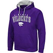 Colosseum Men's Kansas State Wildcats Purple Pullover Hoodie