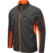 Colosseum Men's Oklahoma State Cowboys Grey Bumblebee Man Full-Zip Jacket