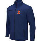 Colosseum Men's Illinois Fighting Illini Blue Willie Full-Zip Jacket