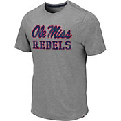 Colosseum Men's Ole Miss Rebels Grey Campinas T-Shirt