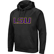 Colosseum Men's LSU Tigers Pullover Black Hoodie