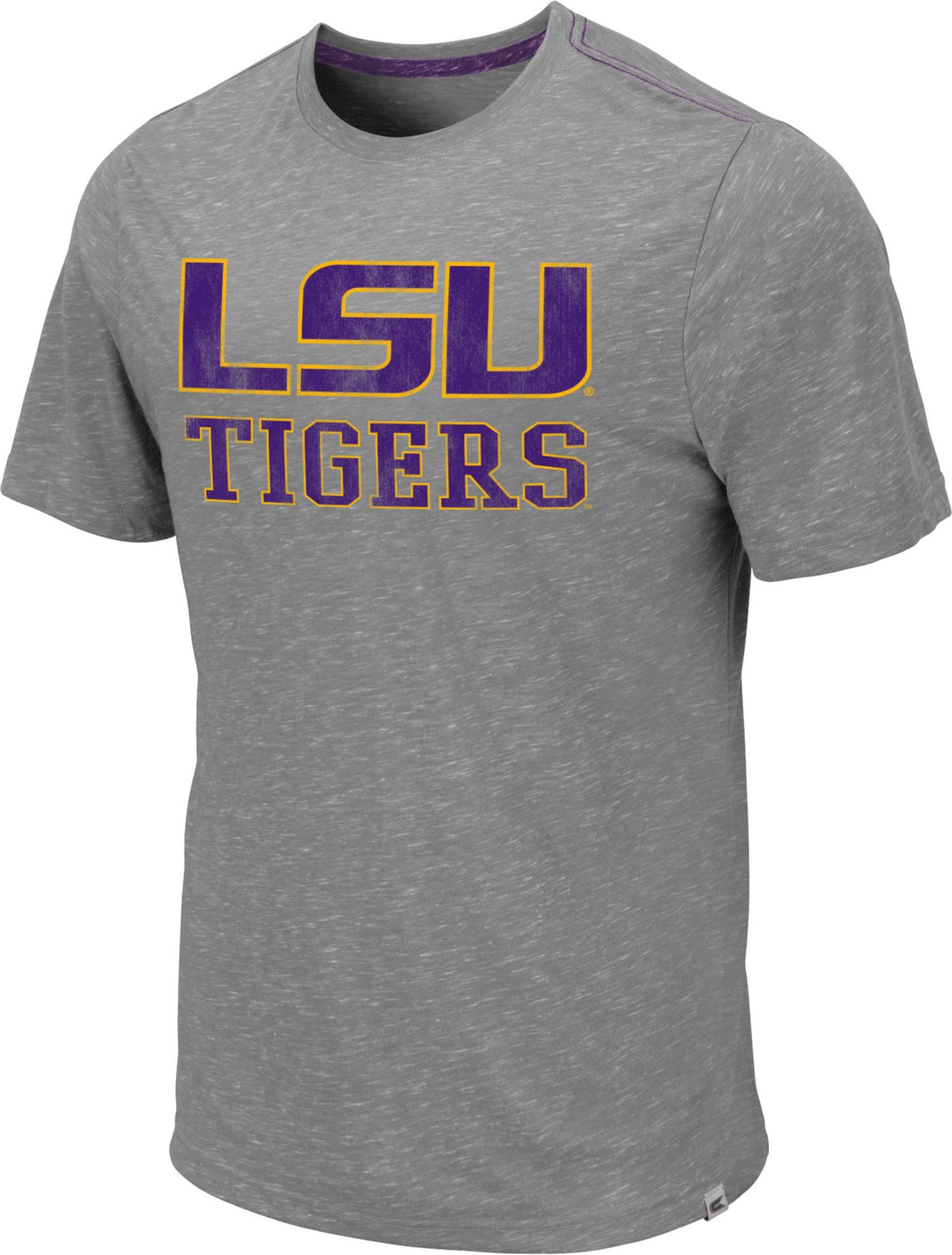 Colosseum Men's LSU Tigers Grey Campinas T-Shirt