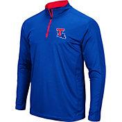 Colosseum Men's Louisiana Tech Bulldogs Blue Loggerhead Quarter-Zip Shirt