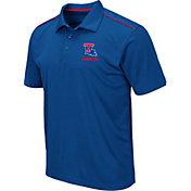 Colosseum Men's Louisiana Tech Bulldogs Blue Eagle Polo