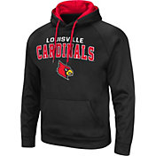 Colosseum Men's Louisville Cardinals Pullover Black Hoodie