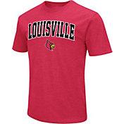 Colosseum Men's Louisville Cardinals Cardinal Red Dual Blend T-Shirt