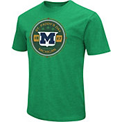Colosseum Men's Michigan Wolverines Green 'St. Patrick's Day' Dual Blend T-Shirt