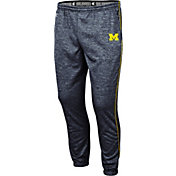 Colosseum Men's Michigan Wolverines Burns Blue Performance Pants