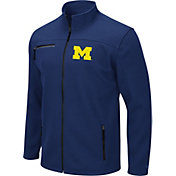 Colosseum Men's Michigan Wolverines Blue Willie Full-Zip Jacket