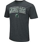 Colosseum Men's Michigan State Spartans Dual Blend Black T-Shirt