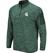 Product Image · Colosseum Men s Michigan State Spartans Green Quarter-Zip  Shirt 60e0f1a08