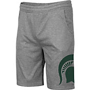 Colosseum Men's Michigan State Spartans Grey Seymour Shorts