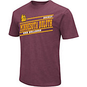 Colosseum Men's Minnesota-Duluth Bulldogs Maroon Dual Blend Hockey T-Shirt