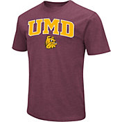 Colosseum Men's Minnesota-Duluth Bulldogs Maroon Dual Blend T-Shirt