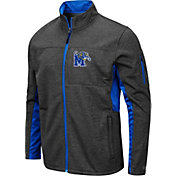 Colosseum Men's Memphis Tigers Grey Bumblebee Man Full-Zip Jacket